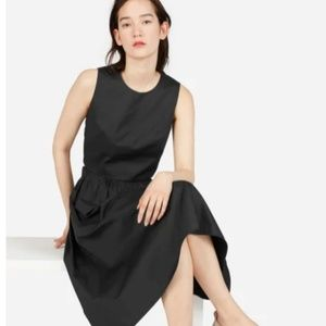 Everlane Clean Cotton Crop Tank Black